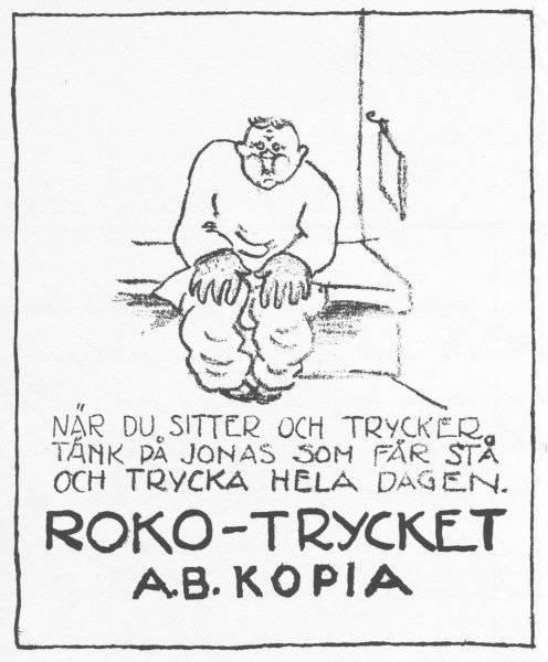 Annons från 1800-talets slut