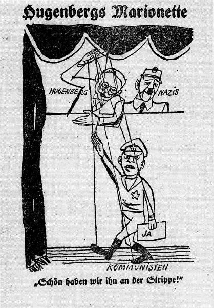 Hugenbergs marionetter