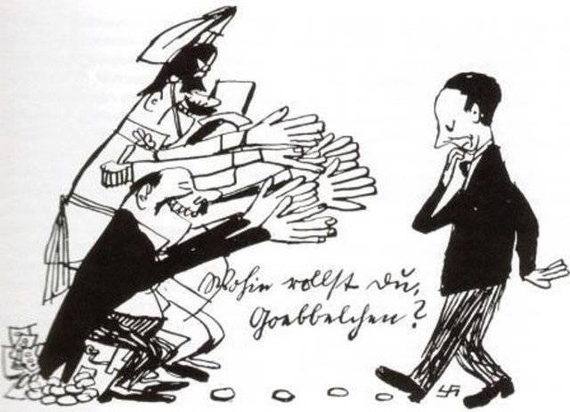 Vart är du på väg lille Goebbels