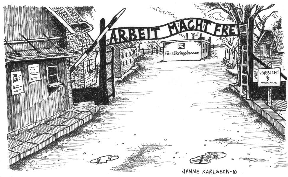 Försäkringskassan i Auschwitz