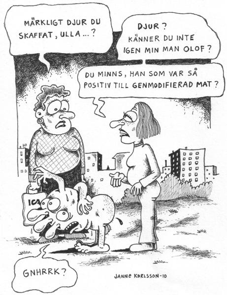 Genmodifierade maken Olof