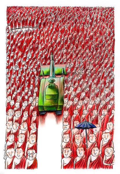 Oroligheterna i Burma