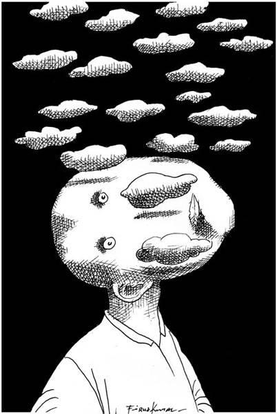 Svarta moln i mitt huvud