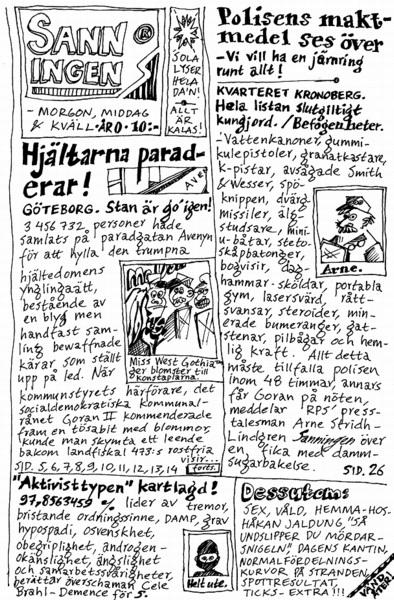 Sanningen, 2001