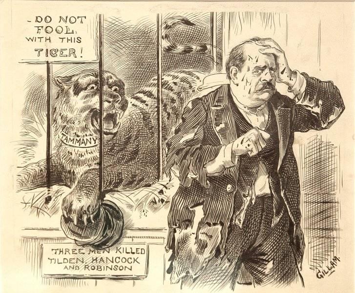 En varning till Grover Cleveland