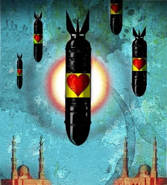 Humanitära bomber