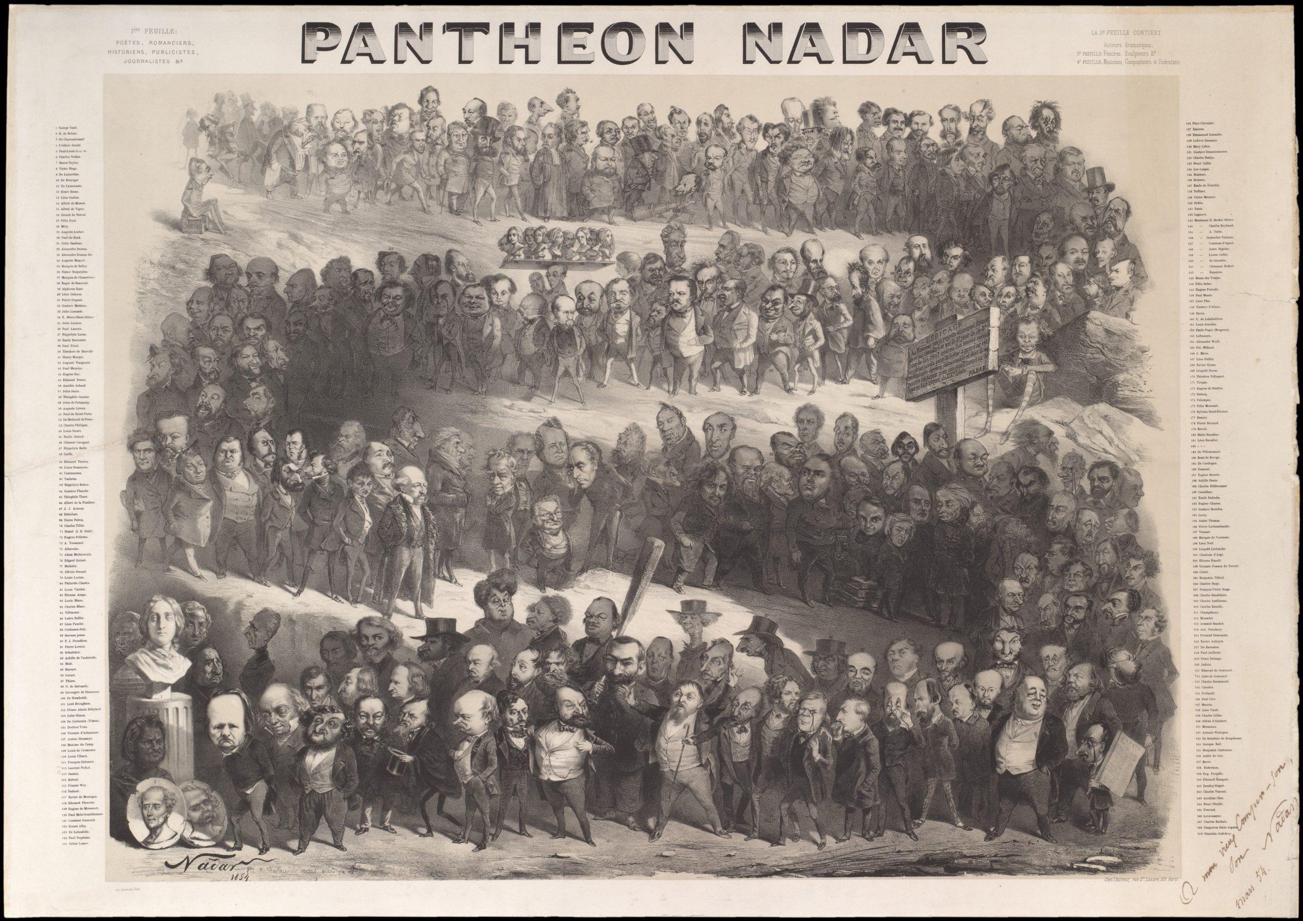 Nadars pantheon