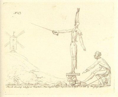 Gustaf IV Adolf som Don Quijote